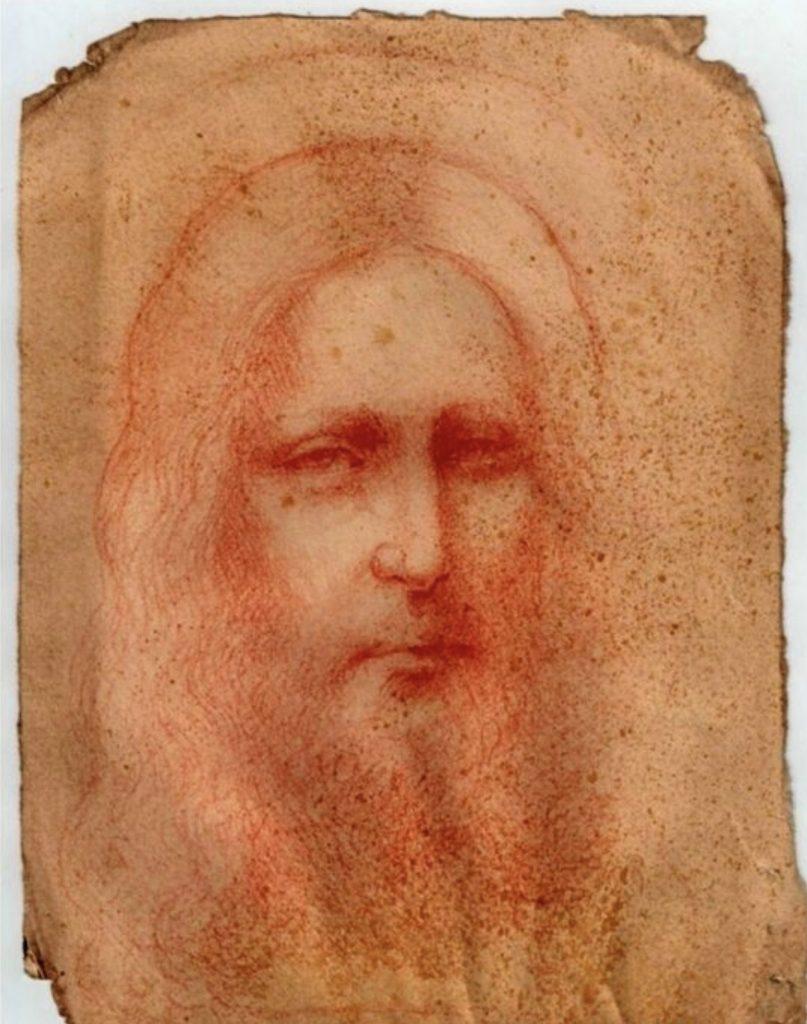 Christ attribué à Léonard de Vinci