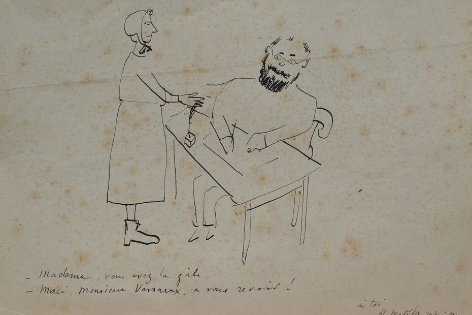 Croquis Matisse