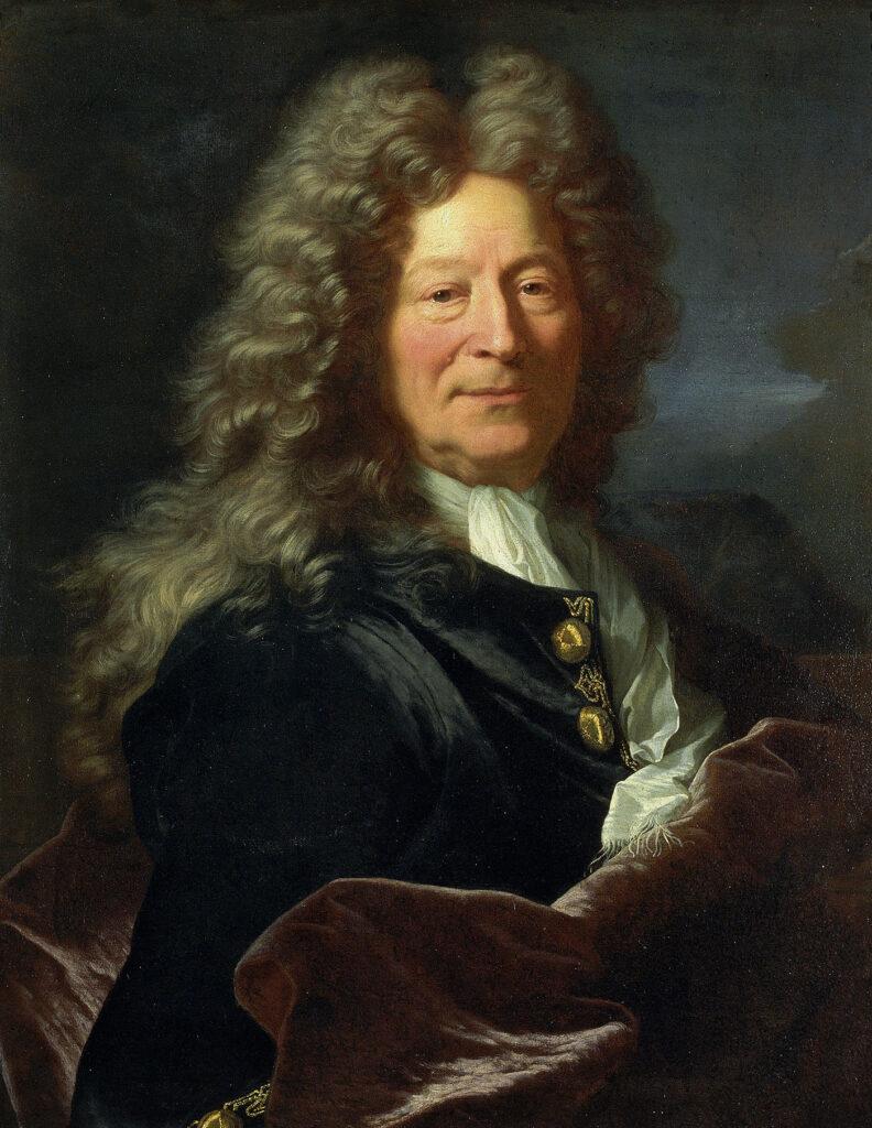 Portrait de François Girardon Hyacinthe Rigaud, 1705-1706