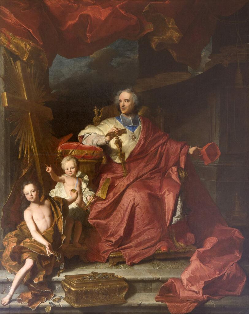 Portrait de Louis XV Hyacinthe Rigaud (1659-1743) 1727-1730
