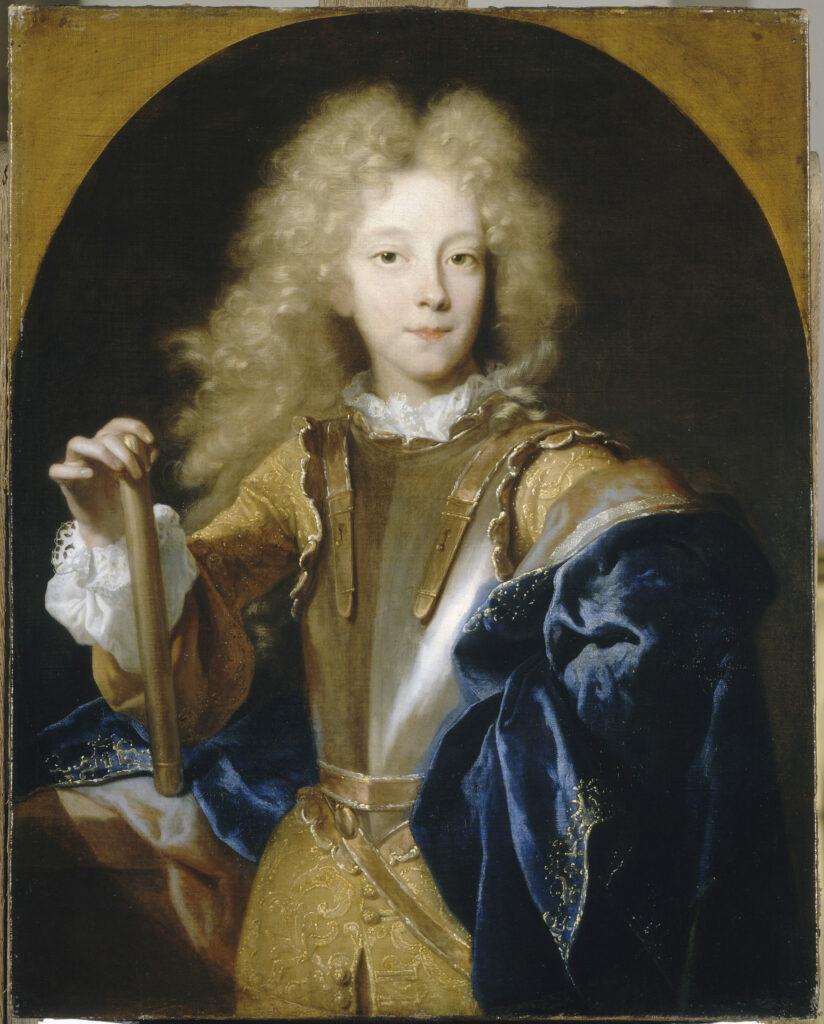 Portrait de Jean Fançois Paul de Crequi, duc de Lesdiguières, Hyacinthe Rigaud, 1687