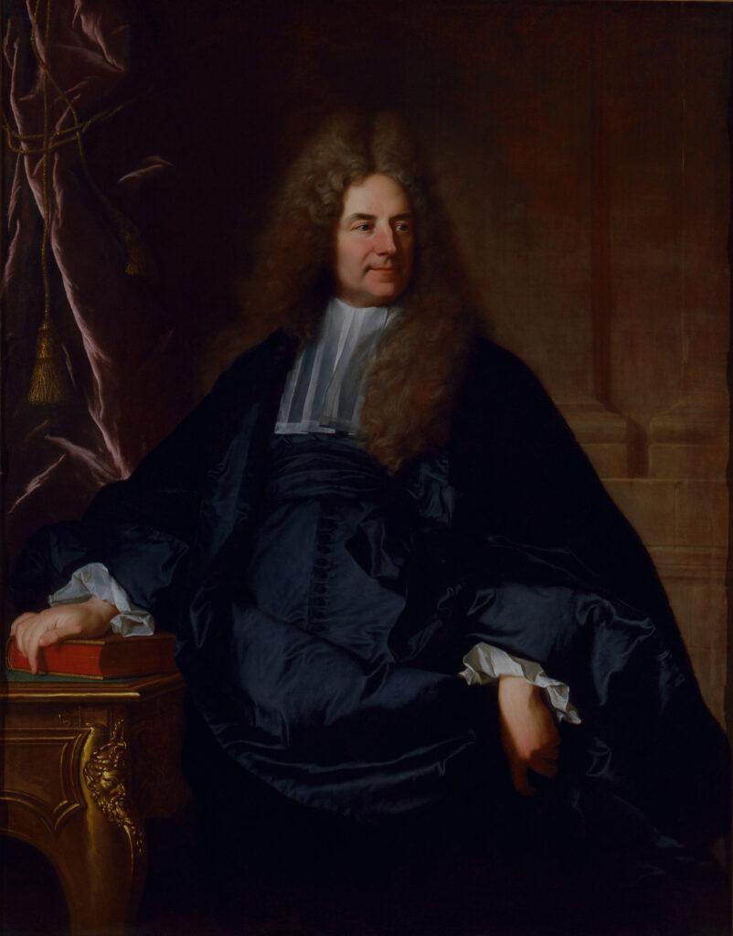 Portrait de Jean Aymard de Nicolay Hyacinthe Rigaud (1659-1743) 1713-1714