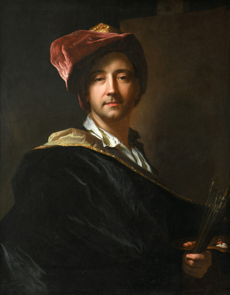 Autoportrait dit au turban Hyacinthe Rigaud, 1698
