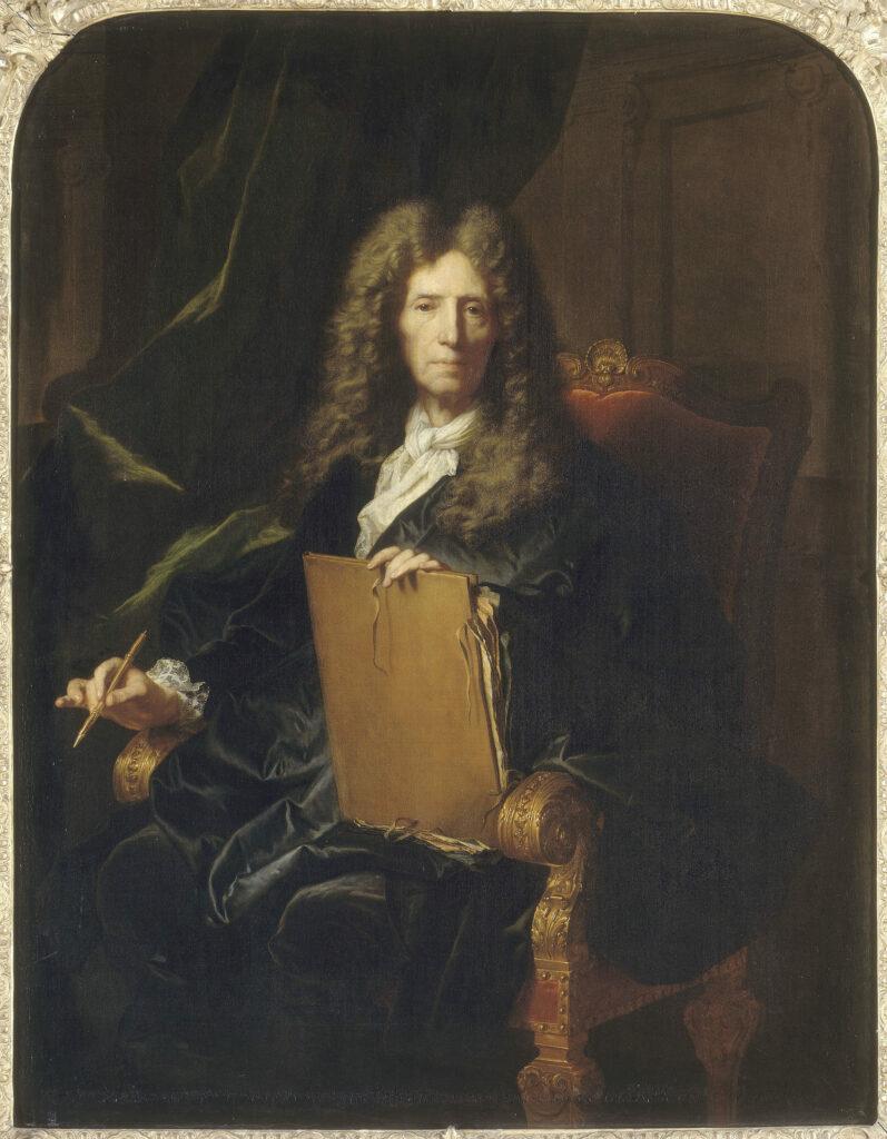 Portrait de Pierre Mignard, Hyacinthe Rigaud, 1690