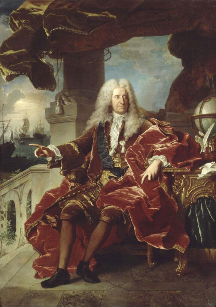 Portrait de Louis XV Hyacinthe Rigaud, 1715-1717