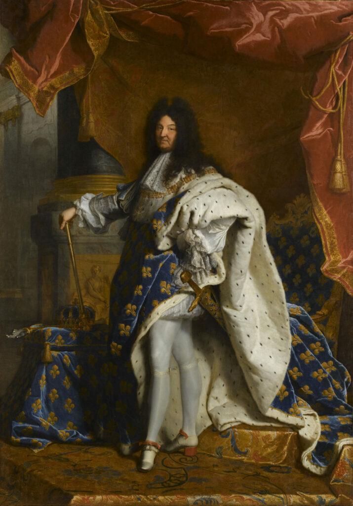 Portrait de Louis XIV en costume Hyacinthe Rigaud, 1701-1702