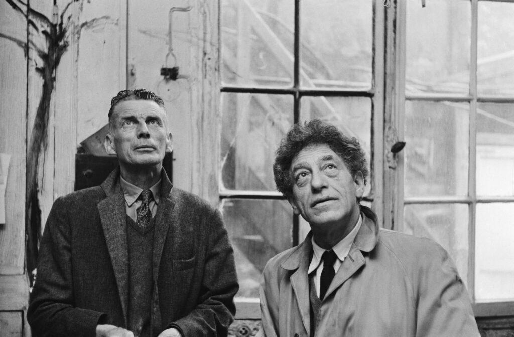 Samuel Beckett et Alberto Giacometti, 1961