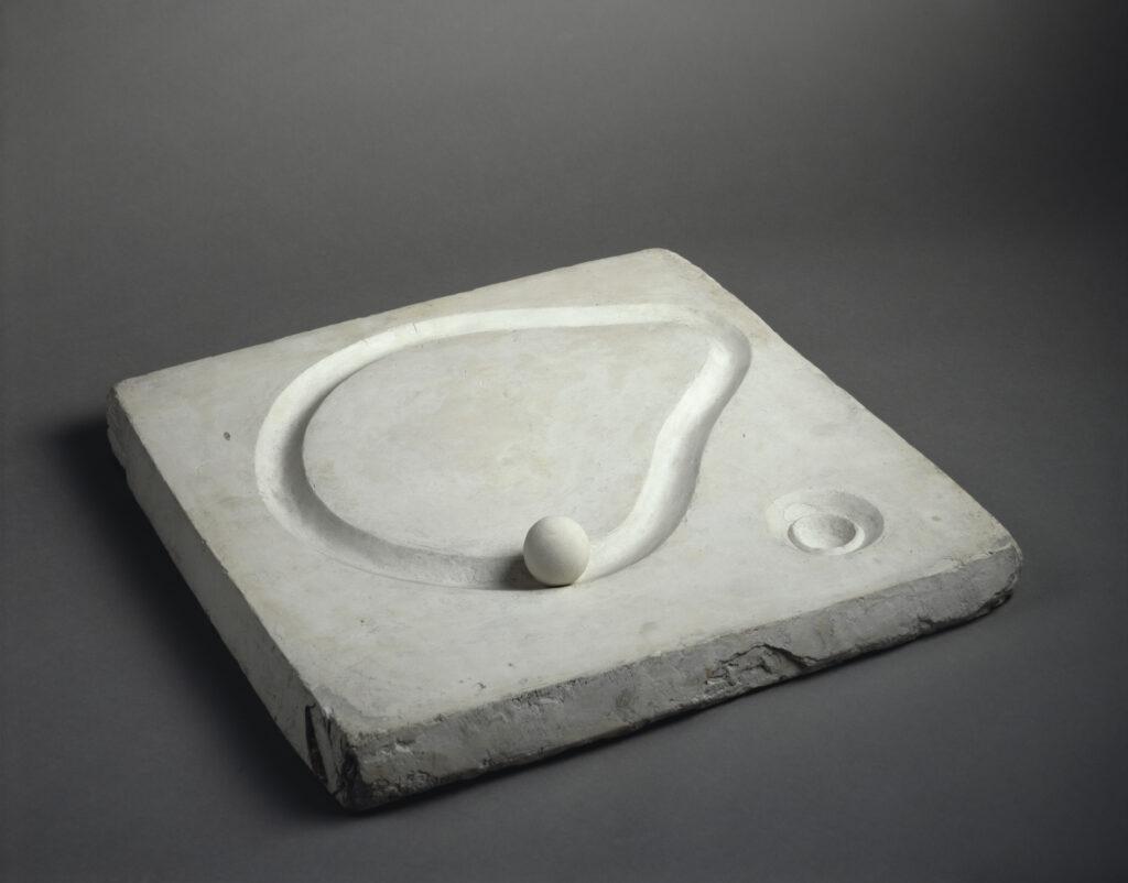 Alberto Giacometti, maquette pour circuit
