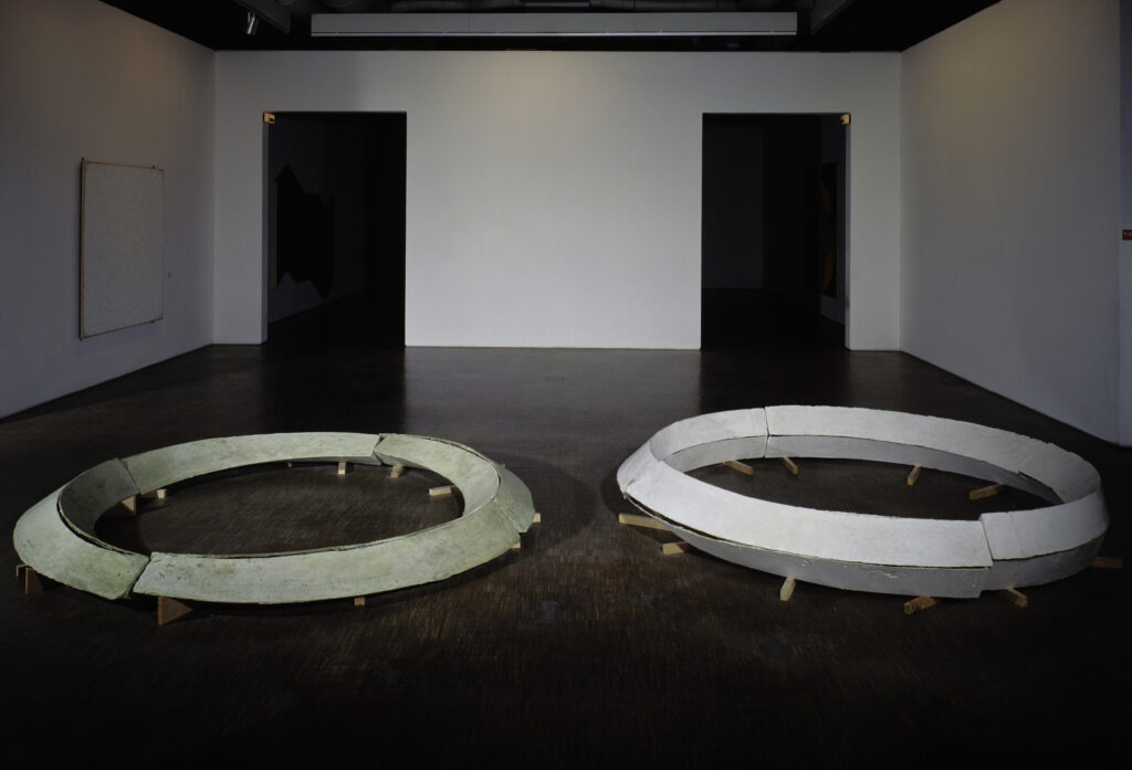 Bruce Nauman, Smoke rings model for underground tunnels
