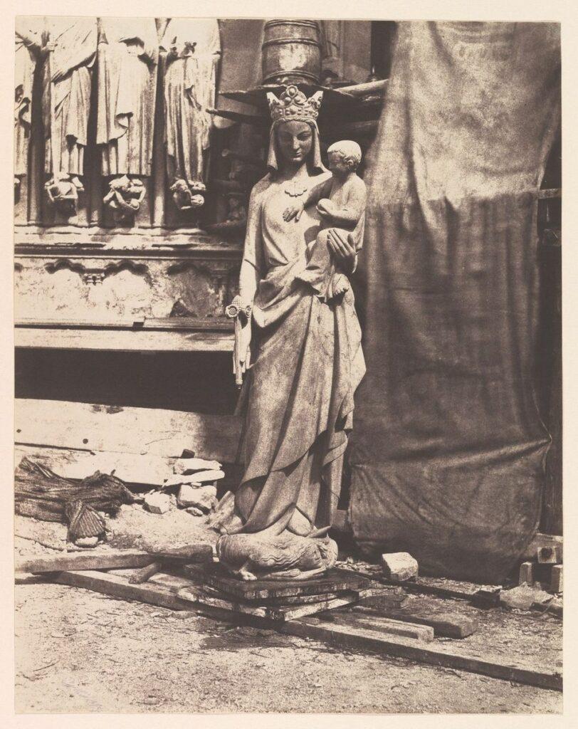 Auguste Mestral (1812–1884), Vierge de Geoffroy-Dechaume, vers 1854