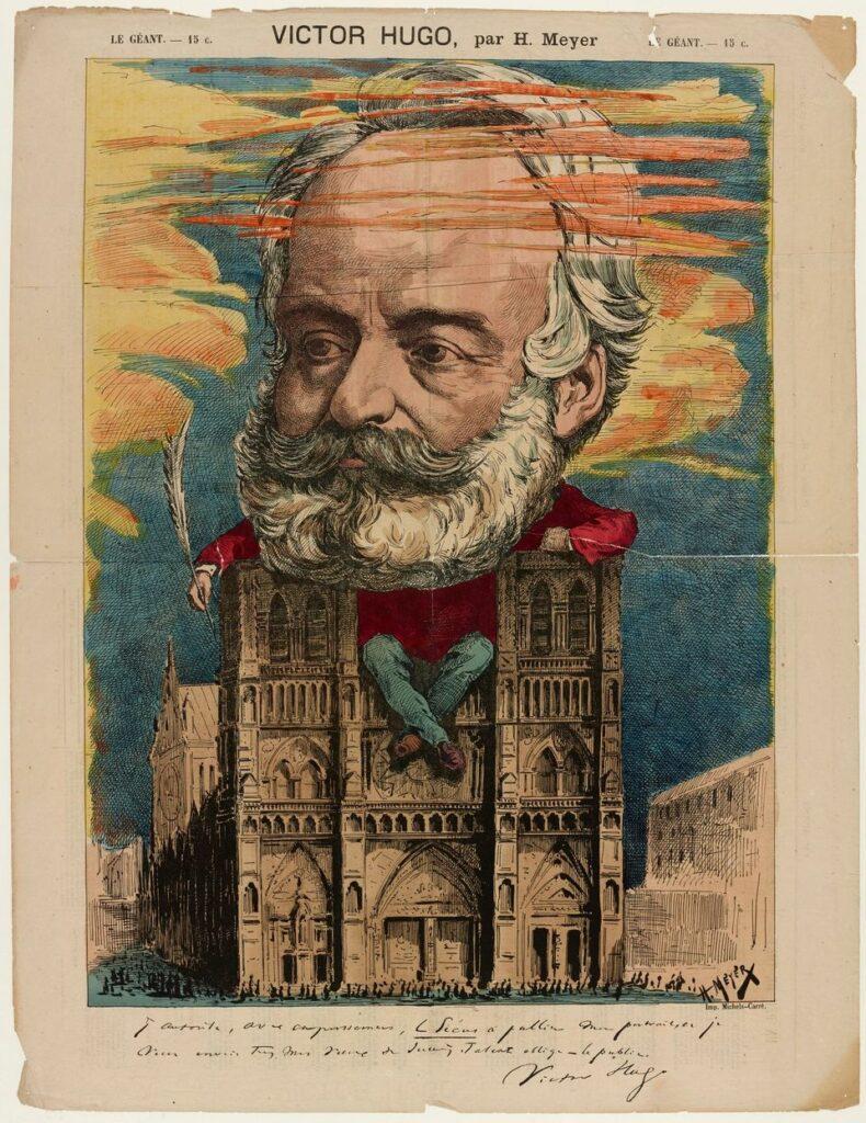 Henri Meyer (1844-1899), Victor Hugo. Imprimerie du journal Le Géant, 26 avril 1868