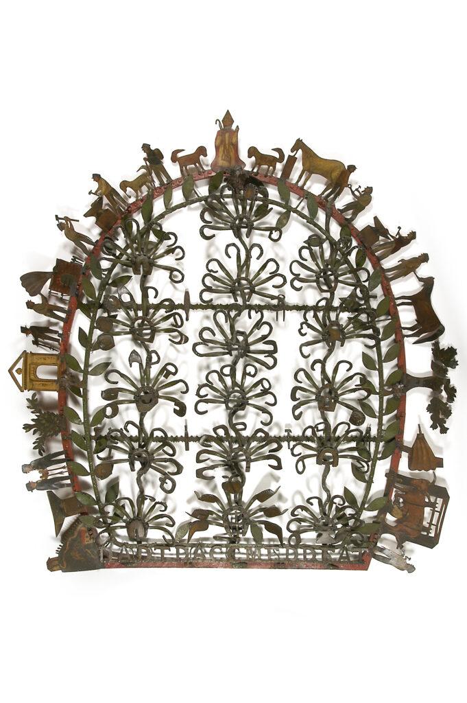 Bouquet de Saint Eloi - Enseigne de maréchalferrant - 1878