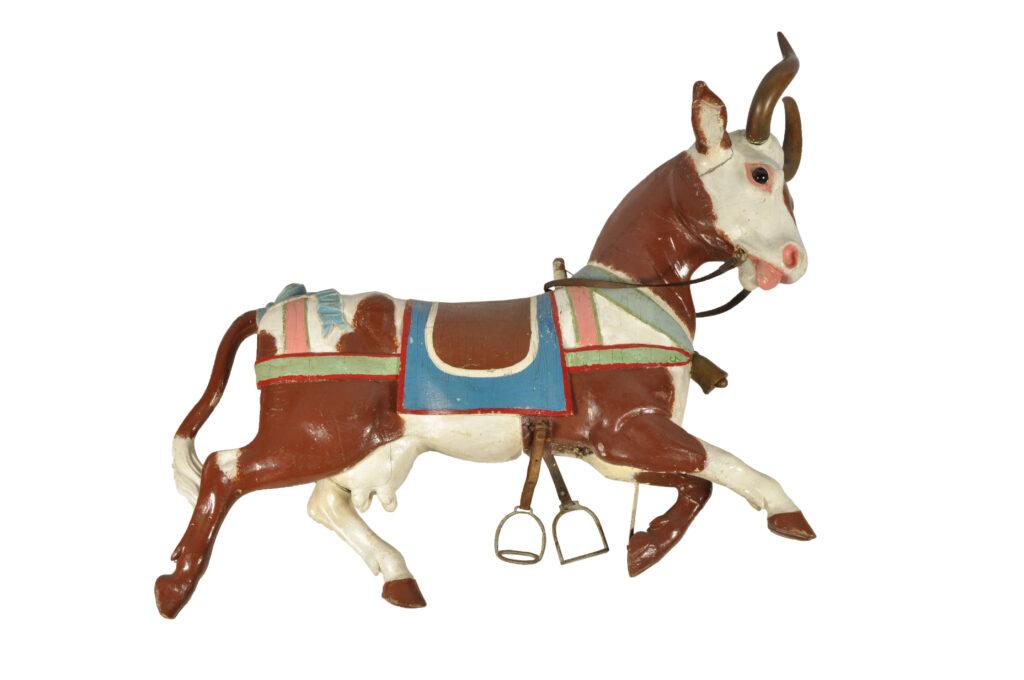 Vache - Sujet de manège. Gustave Bayol. vers 1900