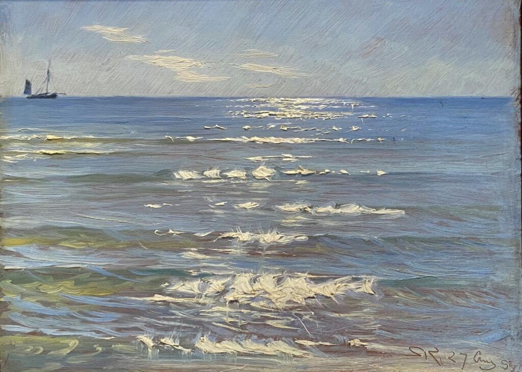 Peder Severin Krøyer, Eftermiddagssol og havblik, 1899