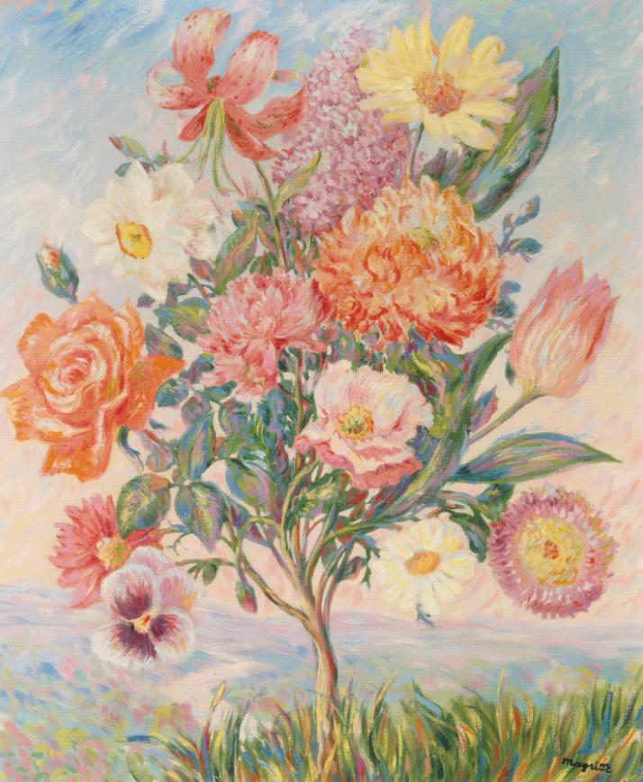 René Magritte, La préméditation, 1943