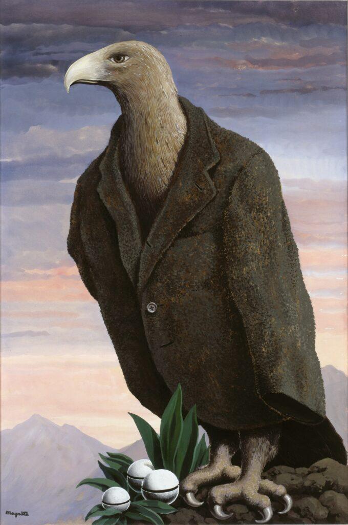 Magritte, Le présent, 1938