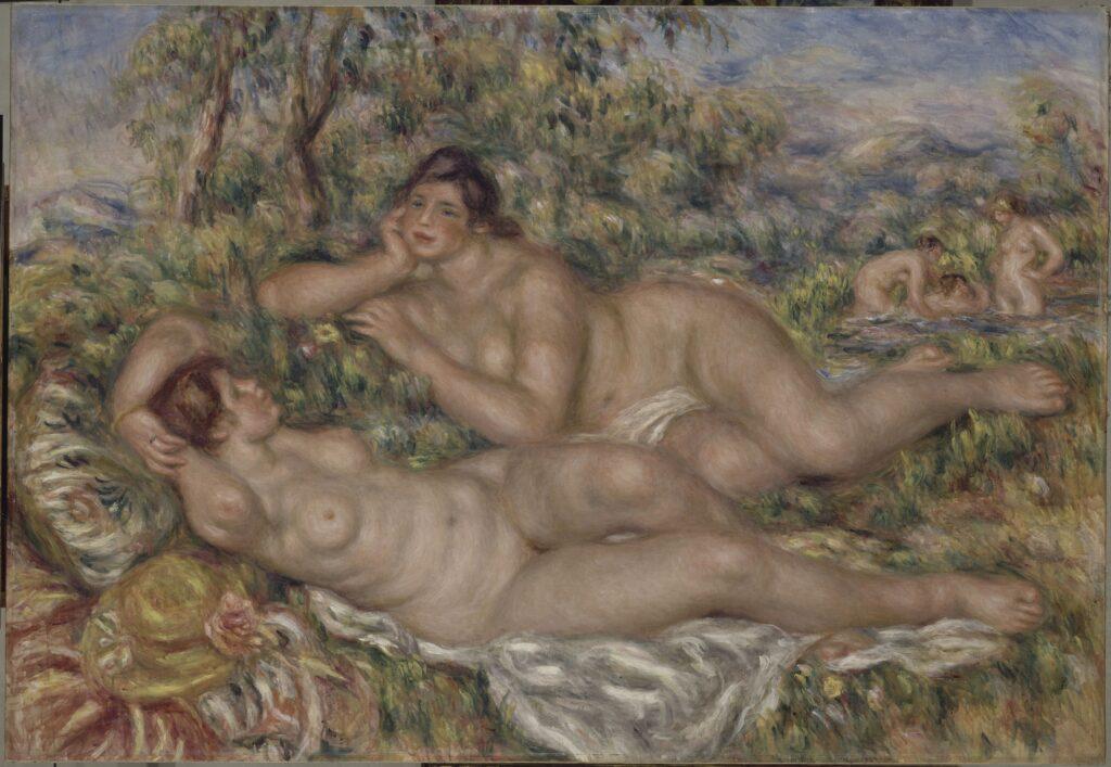 Pierre-Auguste Renoir, Les Baigneuses, entre 1918 et 1919