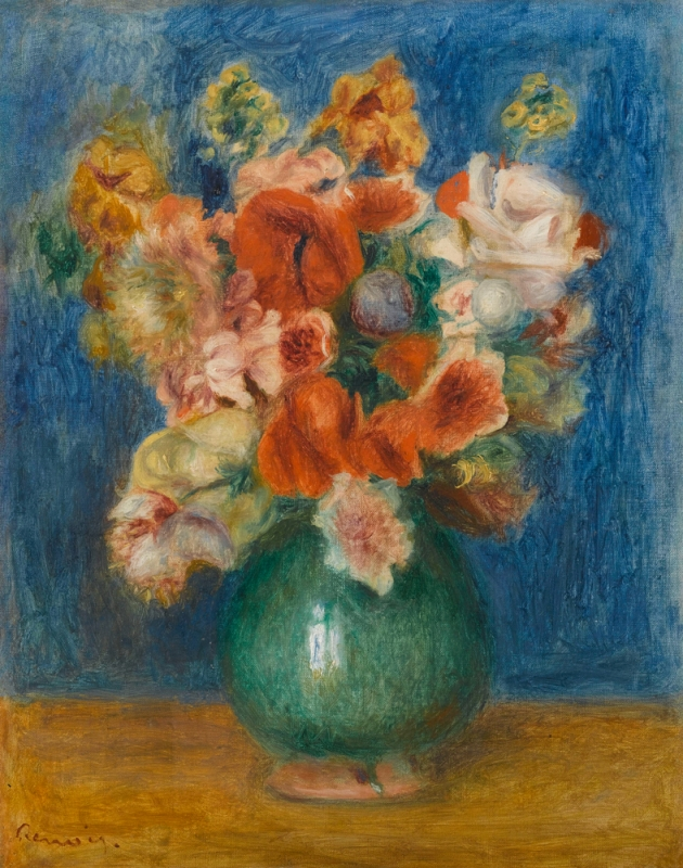 Auguste Renoir, Bouquet, vers 1900
