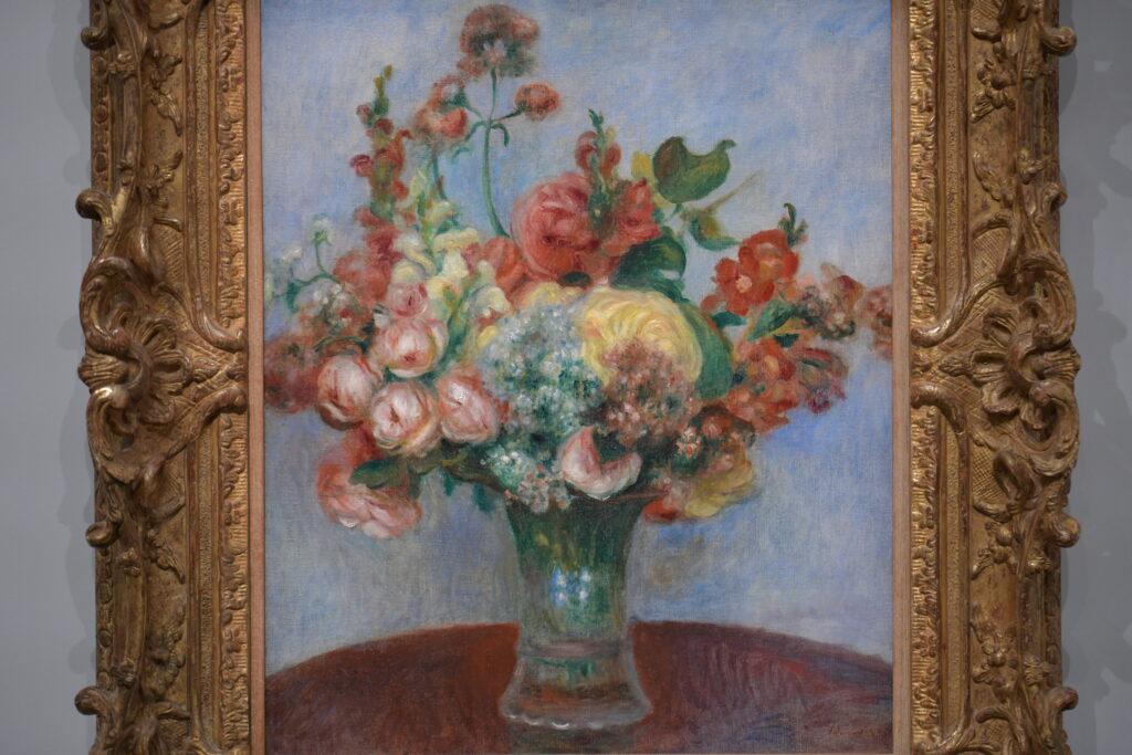 Vue de l'exposition Magritte / Renoir, Musée de l'Orangerie