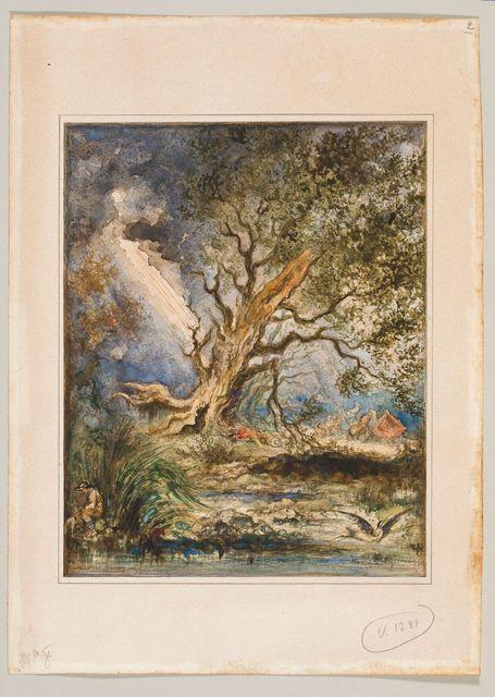 Gustave Moreau, Le Chêne et le Roseau