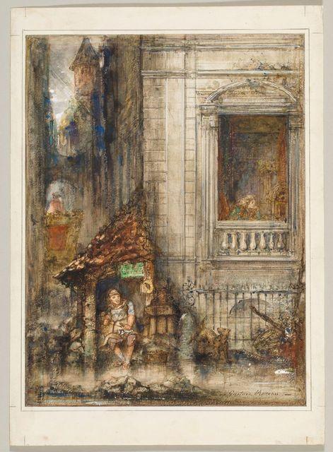 Gustave Moreau, Le Savetier et le Financier, 1879-1881