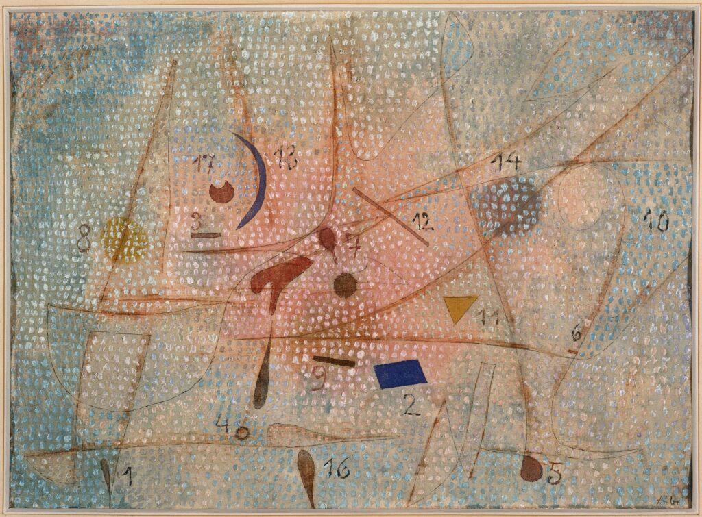 Paul Klee, 17 épices, 1932