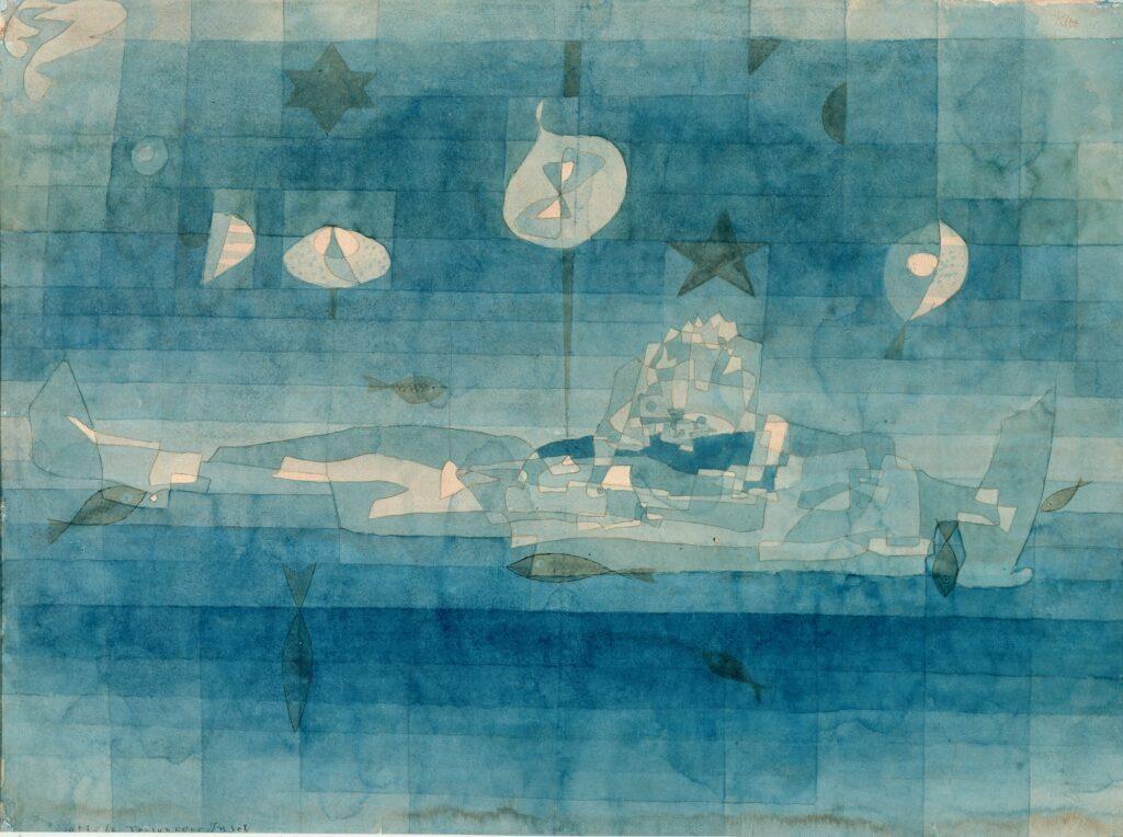 Paul Klee, L'île engloutie, 1923