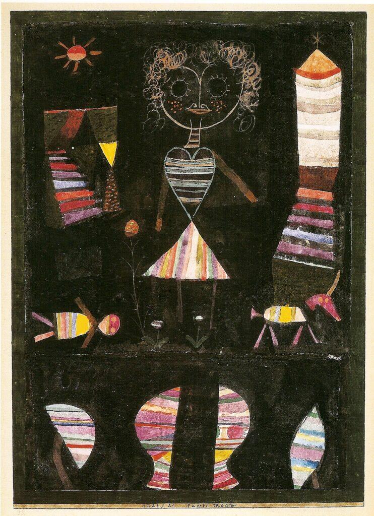 Paul Klee, Théâtre de poupées, 1923