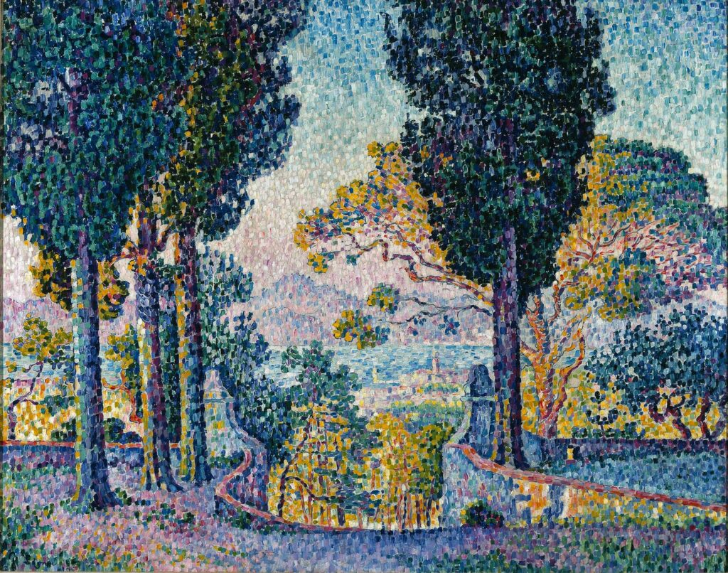 Paul Signac, Sainte Anne, St Tropez,1905