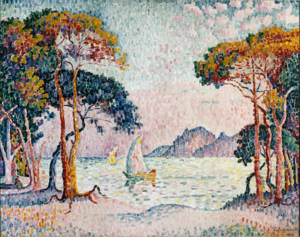 Paul Signac, Juan-les-Pins, 1914