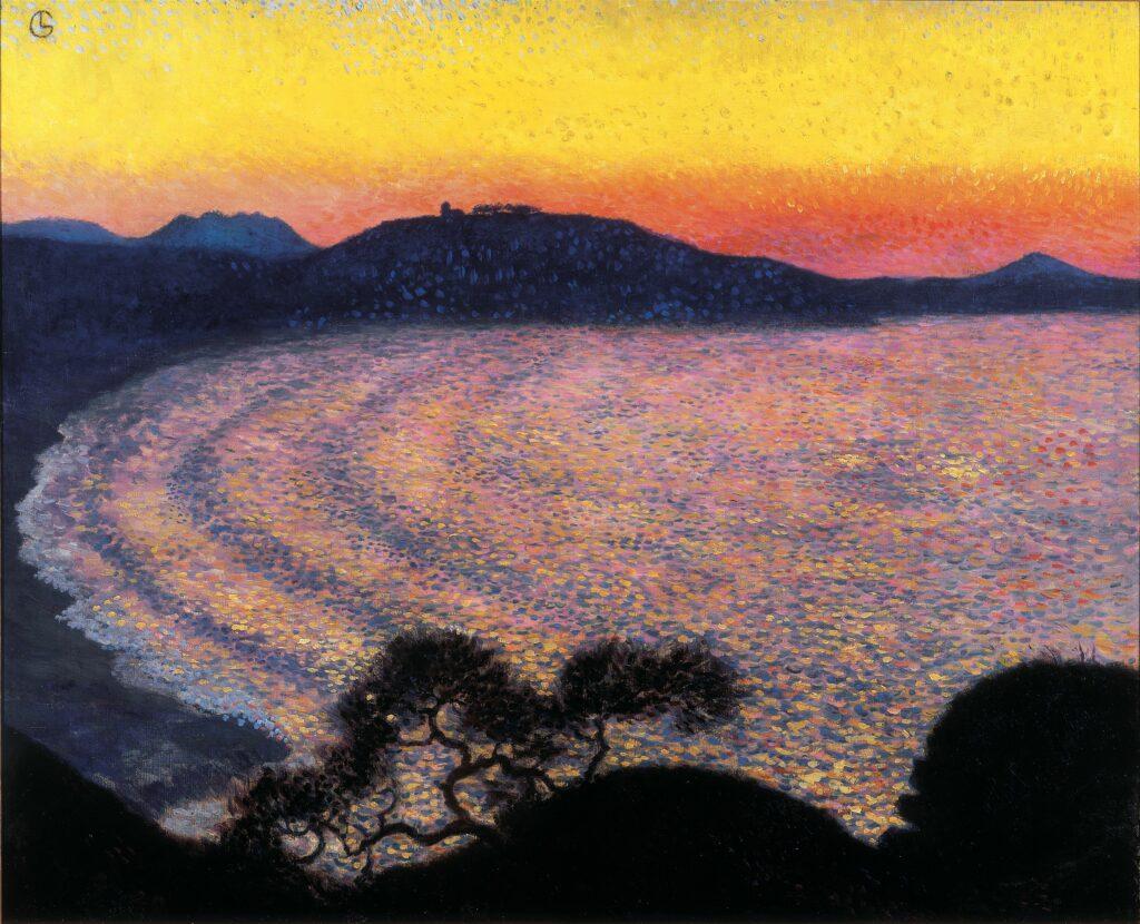 Paul Signac, La baie de Saint-Jean-de-Luz, 1902-1904