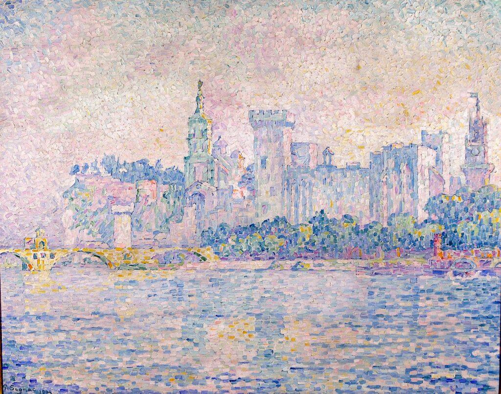 Paul Signac, Avignon, matin, 1909