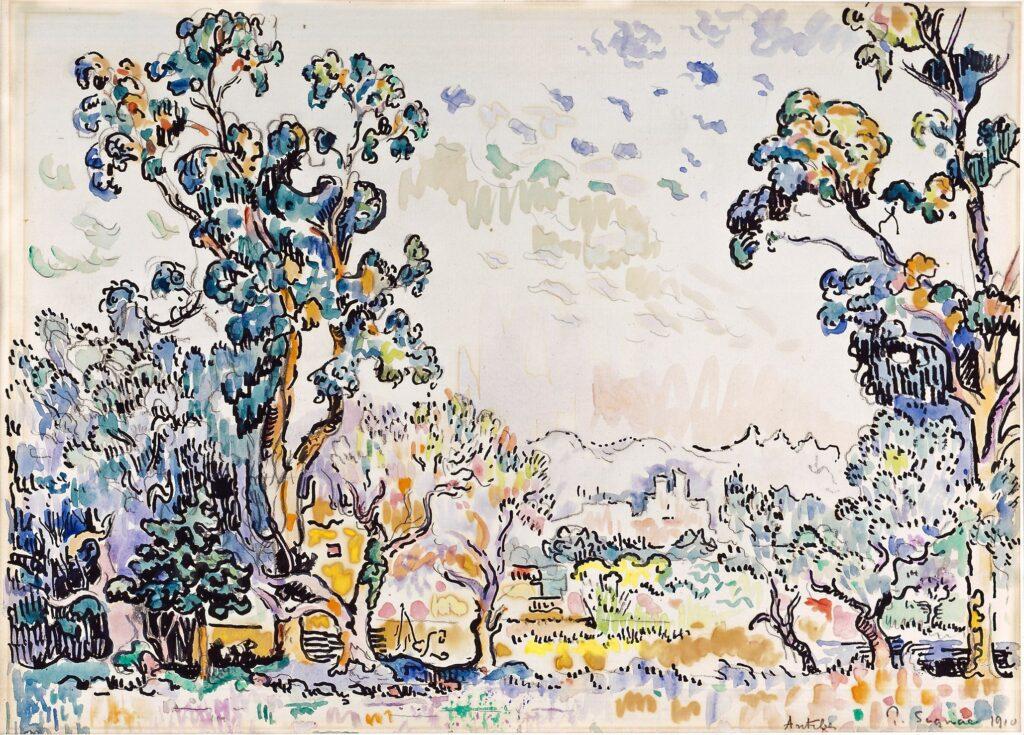 Paul Signac, Antibes, 1910