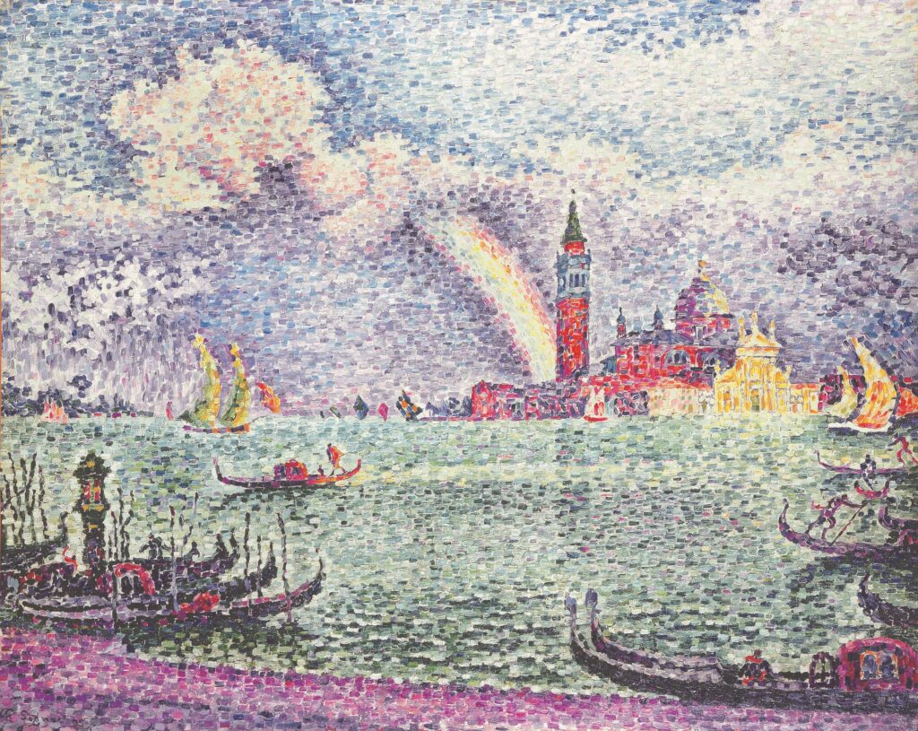 Paul Signac, Arc en ciel à Venise, 1905