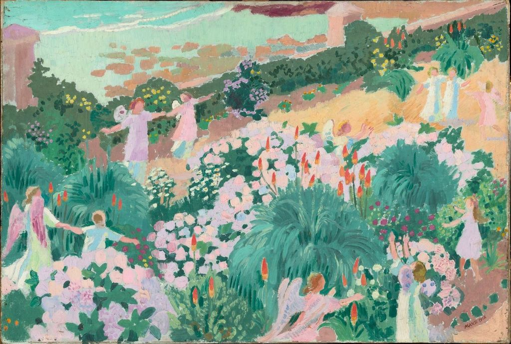 Maurice Denis, Le paradis, 1912