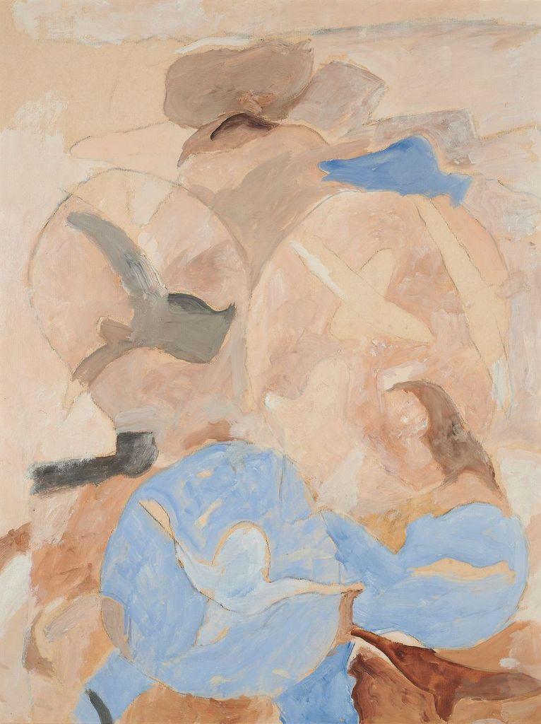G. Braque, Ciel et oiseaux, 1963