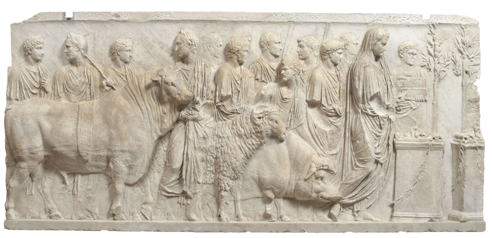 Fragment de relief architectural, Paris, musée du Louvre