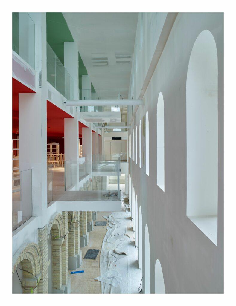 Vue des galeries