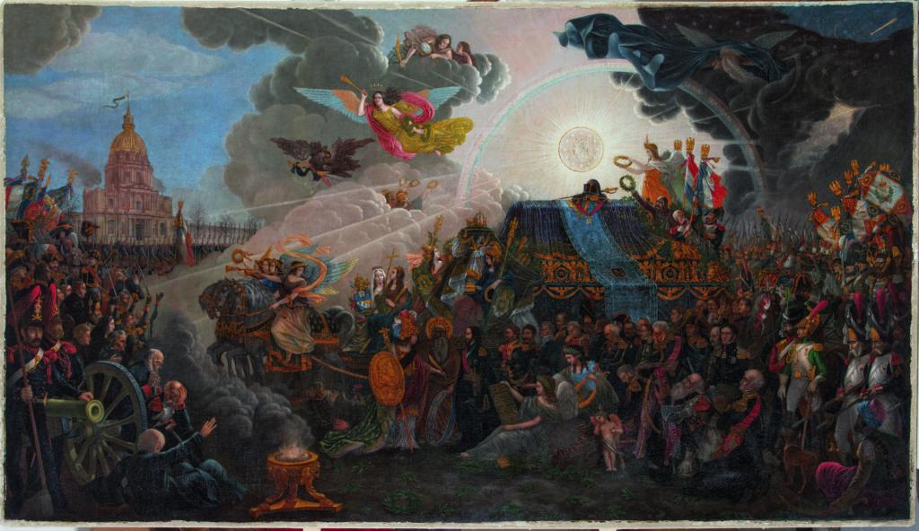 François Trichot, Tableau allégorique du retour des Cendres de Napoléon, le 15 décembre 1840