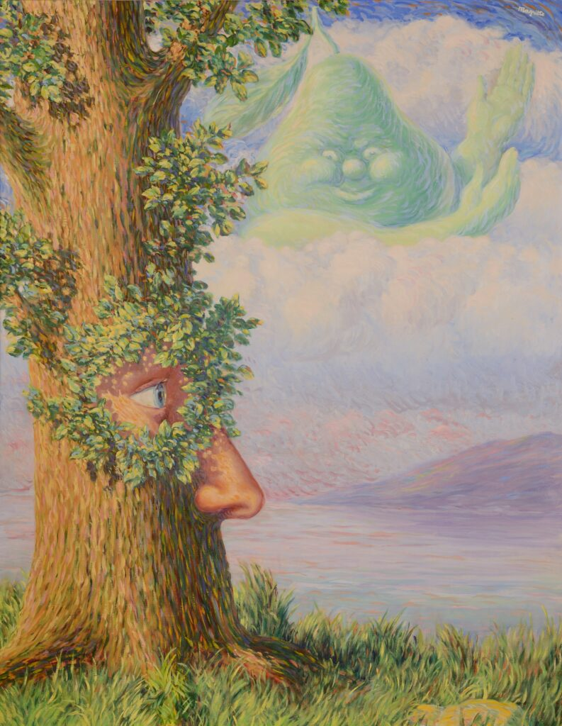 Magritte, Alice au pays des merveilles, 1946
