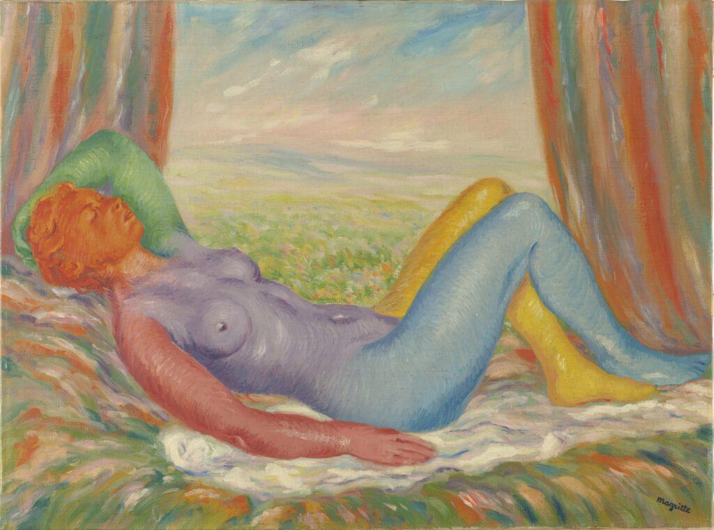 Magritte, La Moisson, 1943