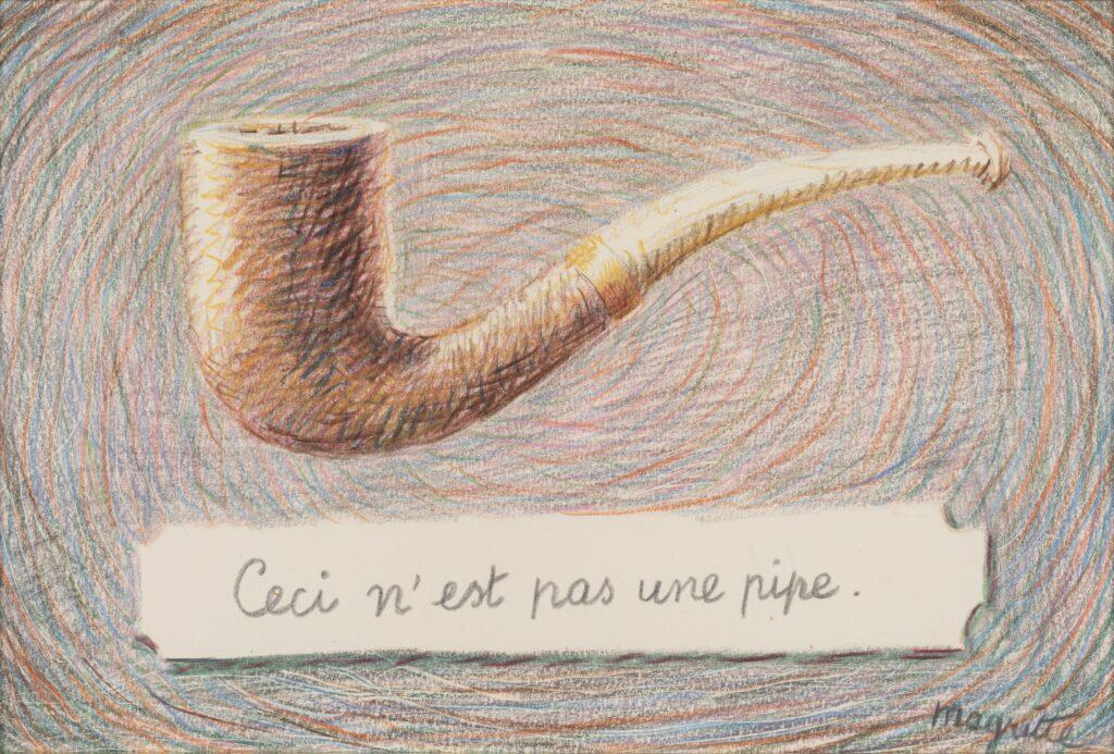 Magritte, L'air et la chanson, 1962