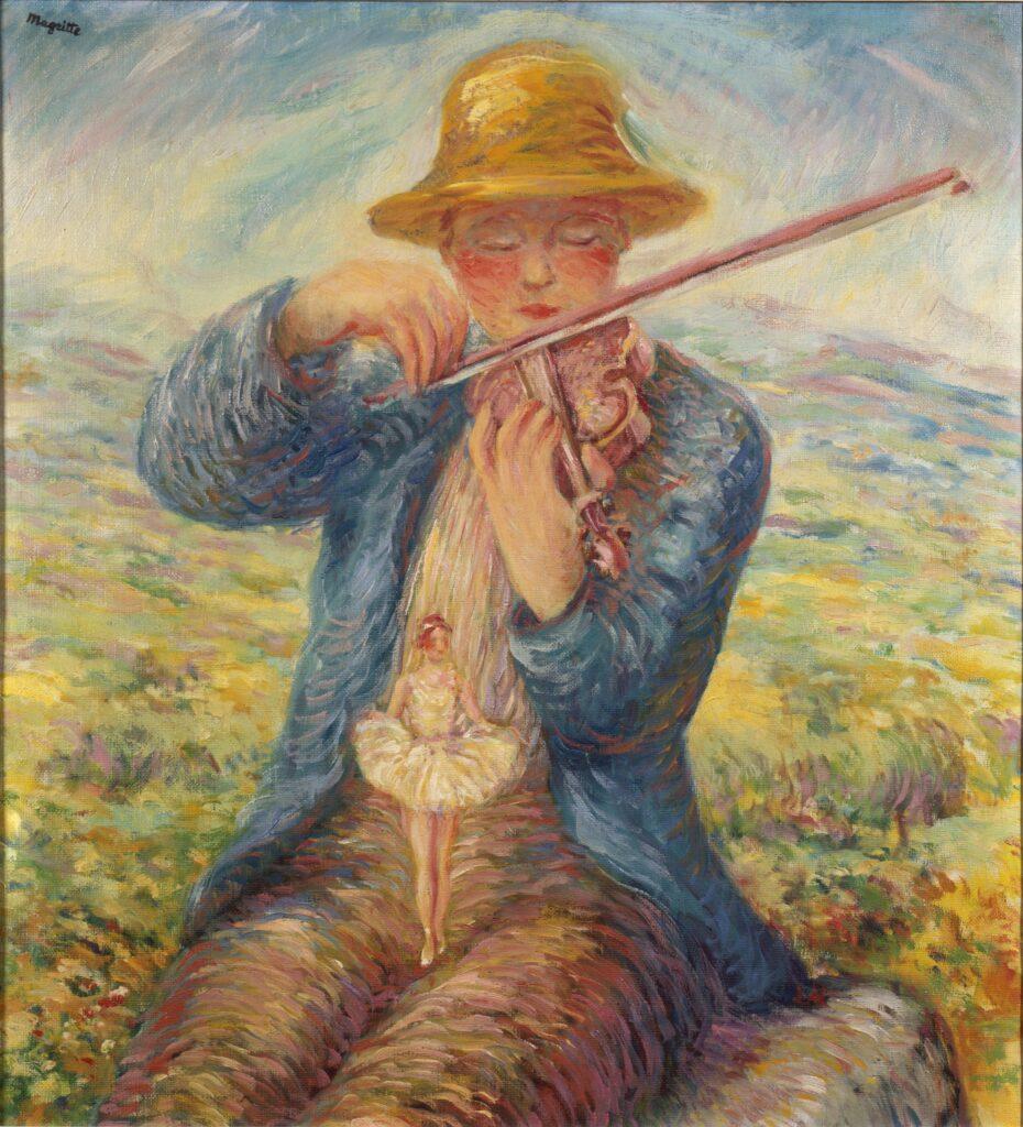 Magritte, Le premier jour, 1943