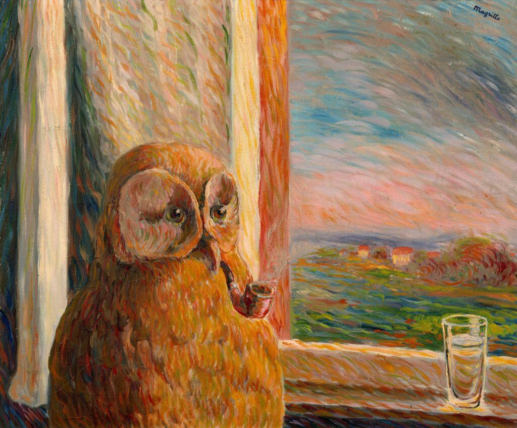 Magritte, Somnambule, 1946