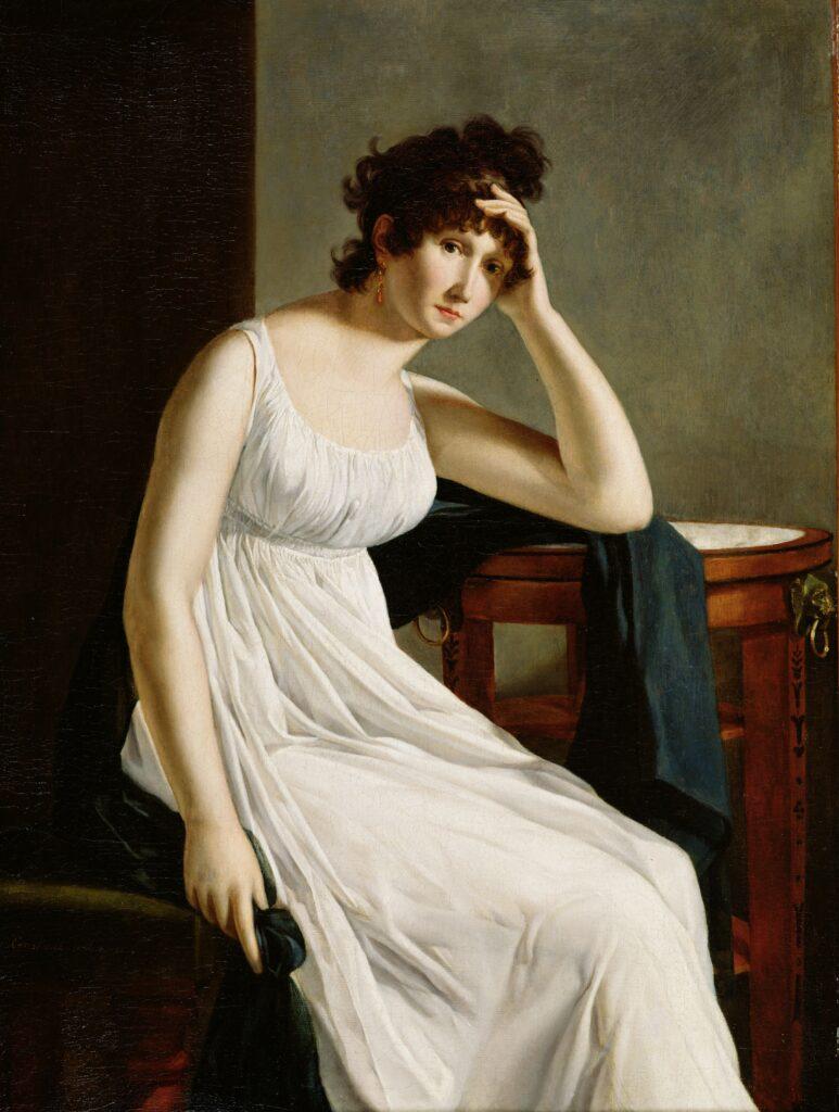 Constance Mayer, Autoportrait, vers 1801