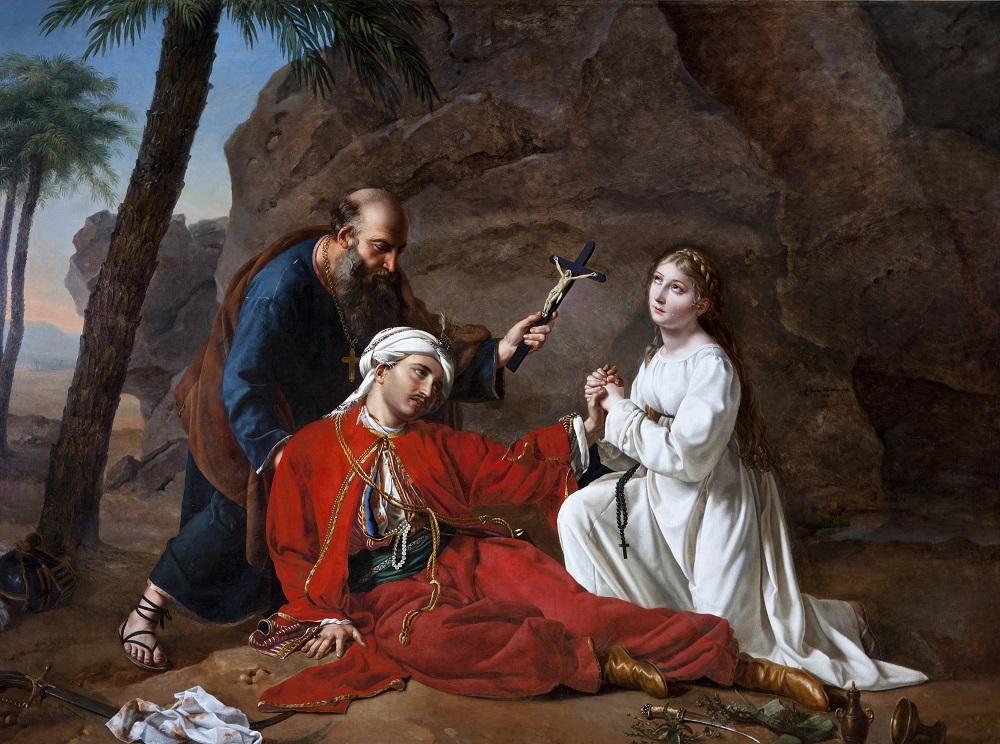 La mort de Malek-Adhel, Césarine Davin-Mirvault, 1814