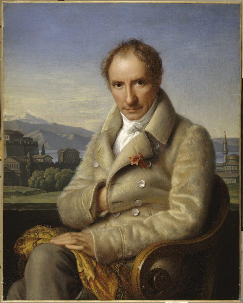 Portrait de François Pouqueville à Janina, Henriette Lorimier, 1830