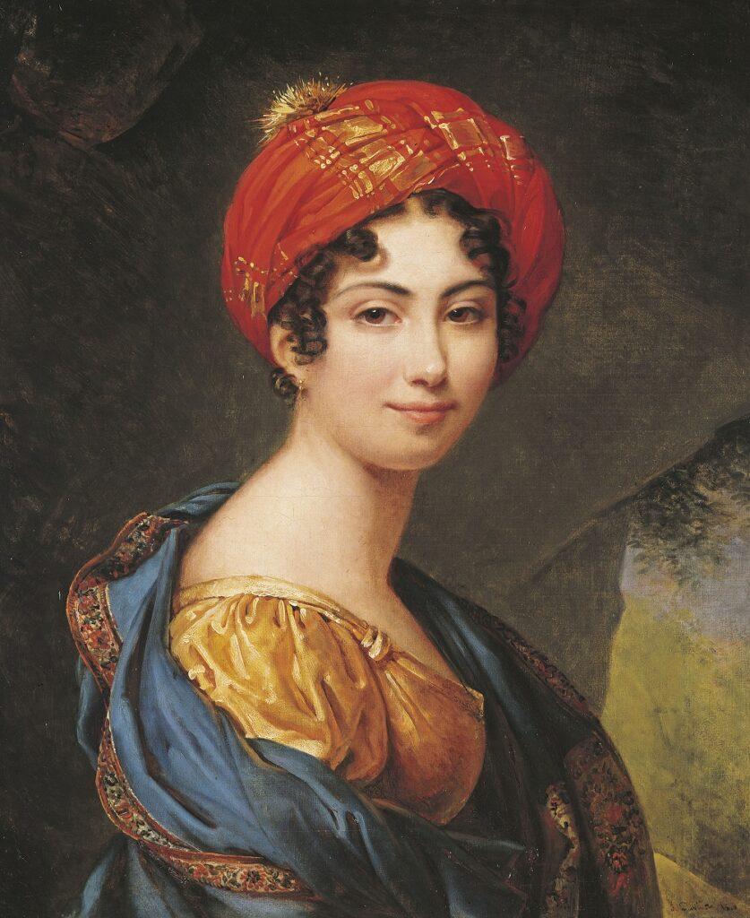 Autoportrait, Julie Duvidal de Montferrier