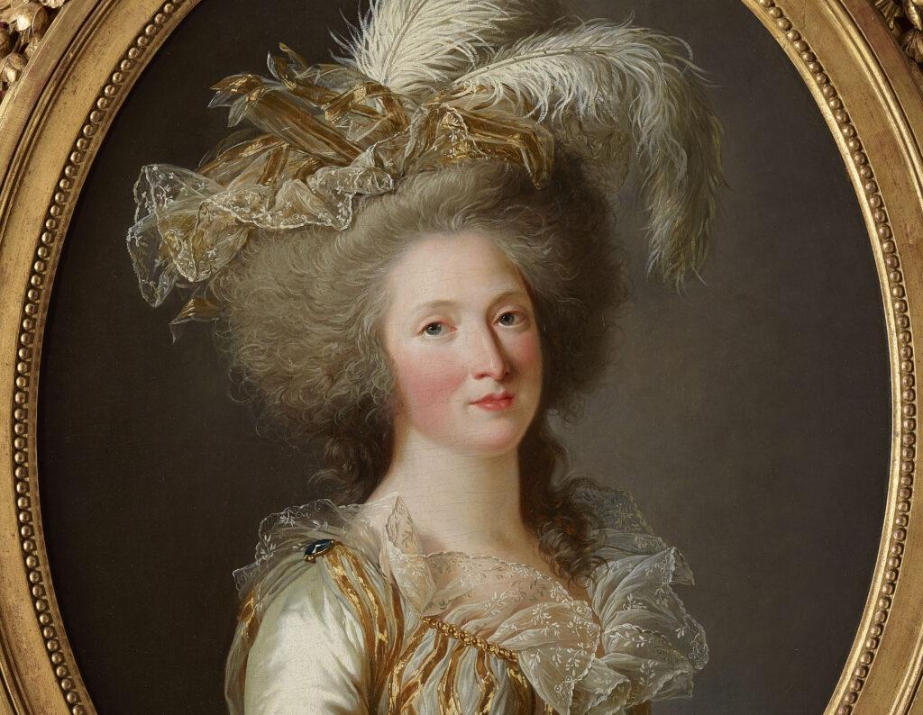 Adélaïde Labille-Guiard, Portrait d'Elisabeth-Philippine-Marie-Hélène De France, Madame Elisabeth, 1788
