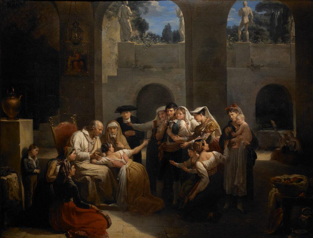 Hortense Haudebourt-Lescot, Le jeu de la main chaude, 1812